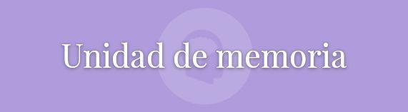 Unidad de memoria : Servicios : Solera Asistencial