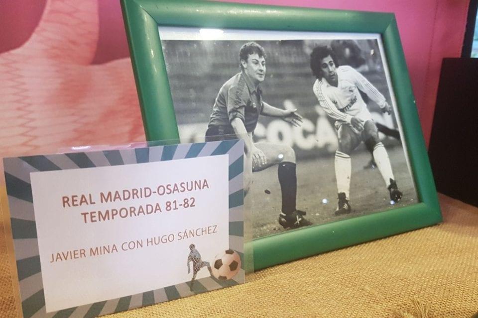 Fotografías antiguas de la exposición Pasión futbolera.