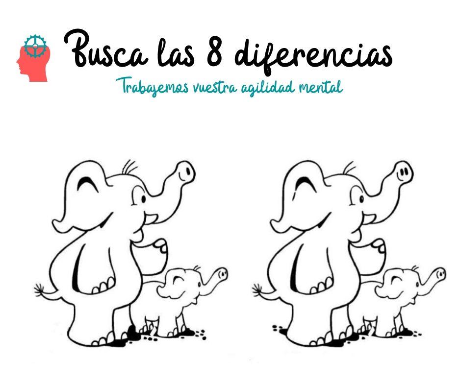 Busca las 8 diferencias