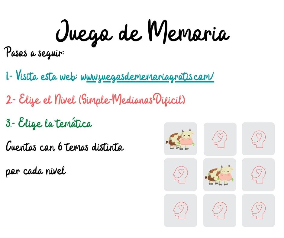 Juego de Memoria #YoMeQuedoEnCasa
