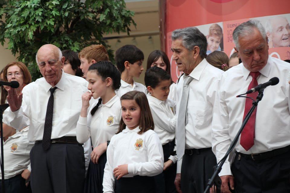 Coro Intergeneracional Mayo 2019 Centro Comercial Morea 5