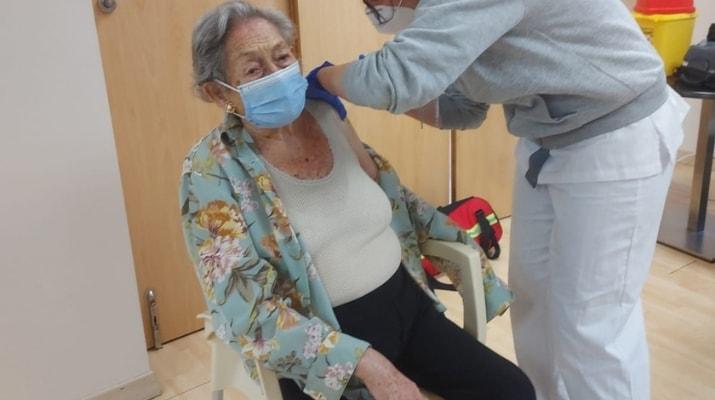 Teresa Goñi, vacuna CD Vaguada