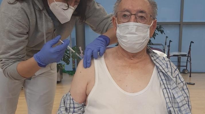 Joaquin - 2º Dosis Vacuna Res. La Vaguada