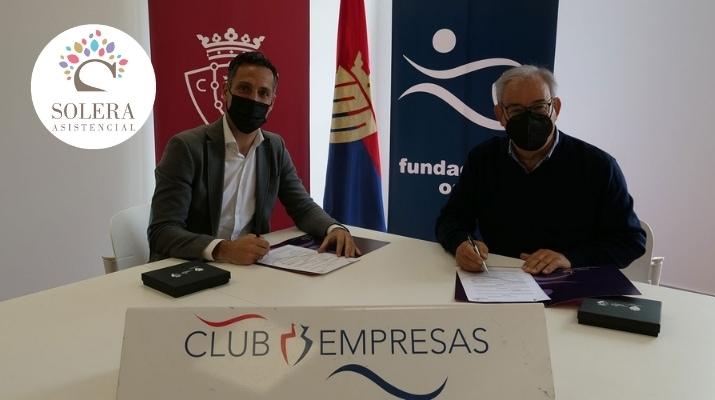 Fundación Osasuna y Solera Asistencial