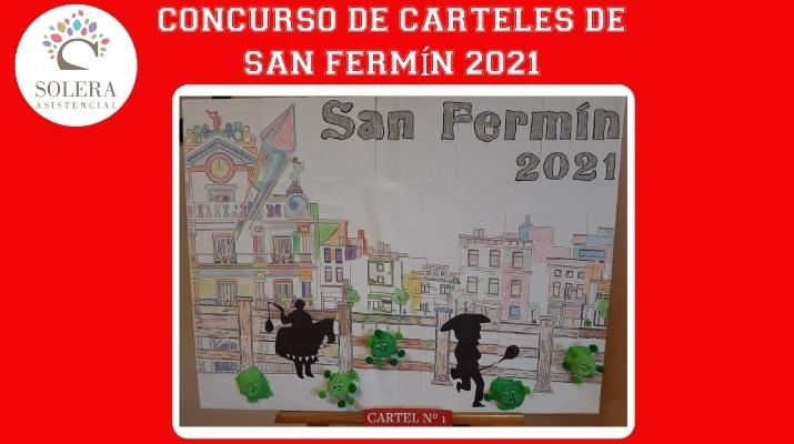 concurso cartel san fermín 2021 cartel nº 1