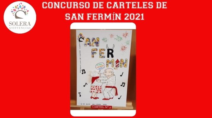 concurso cartel san fermín 2021 cartel nº 3