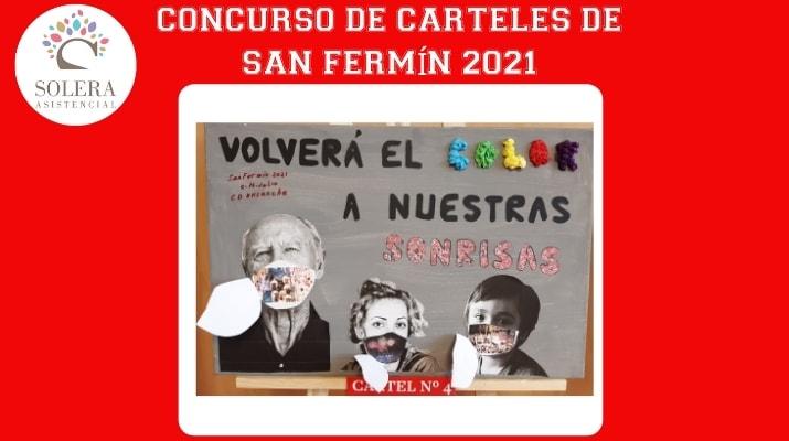 concurso cartel san fermín 2021 cartel nº 4