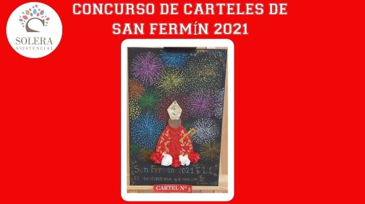 concurso cartel san fermín 2021 cartel nº 5