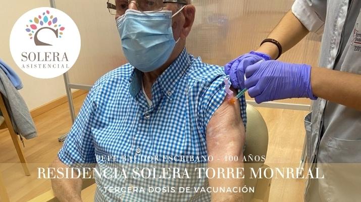 torre monreal tercera dosis vacunación ii